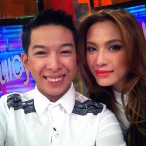 me and ic mendoza for juicy wearing mind game