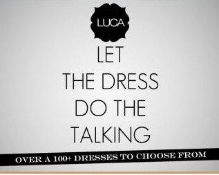 Super cute dress from @shopLUCA! Available online at www.shopluca.com
