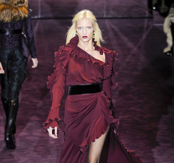 Color of the moment: BURGUNDY/OXBLOOD RED