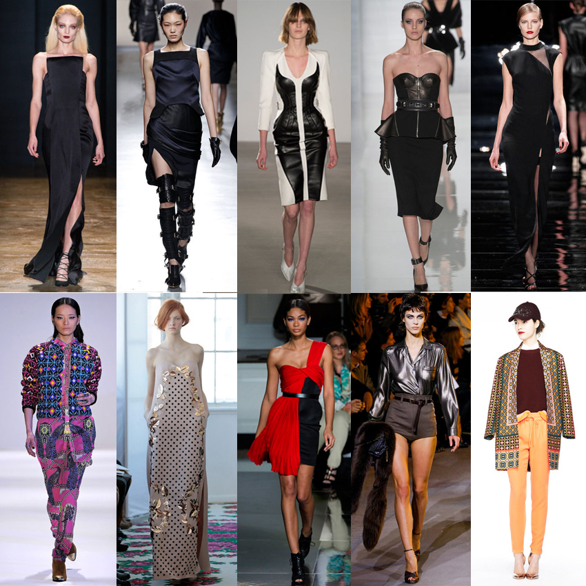 My top 10 New York Fashion Week A/W 2013 collections!