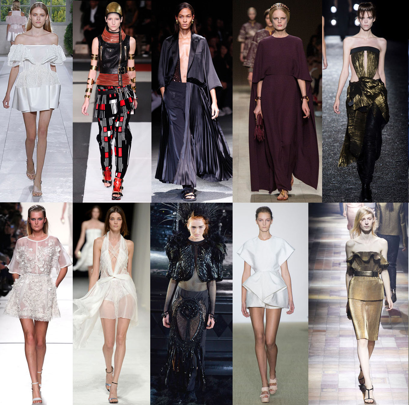 My top 10 Parish Fashion Week collections!