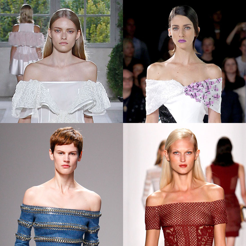 TREND ALERT: Off-the-shoulders is the new side boob