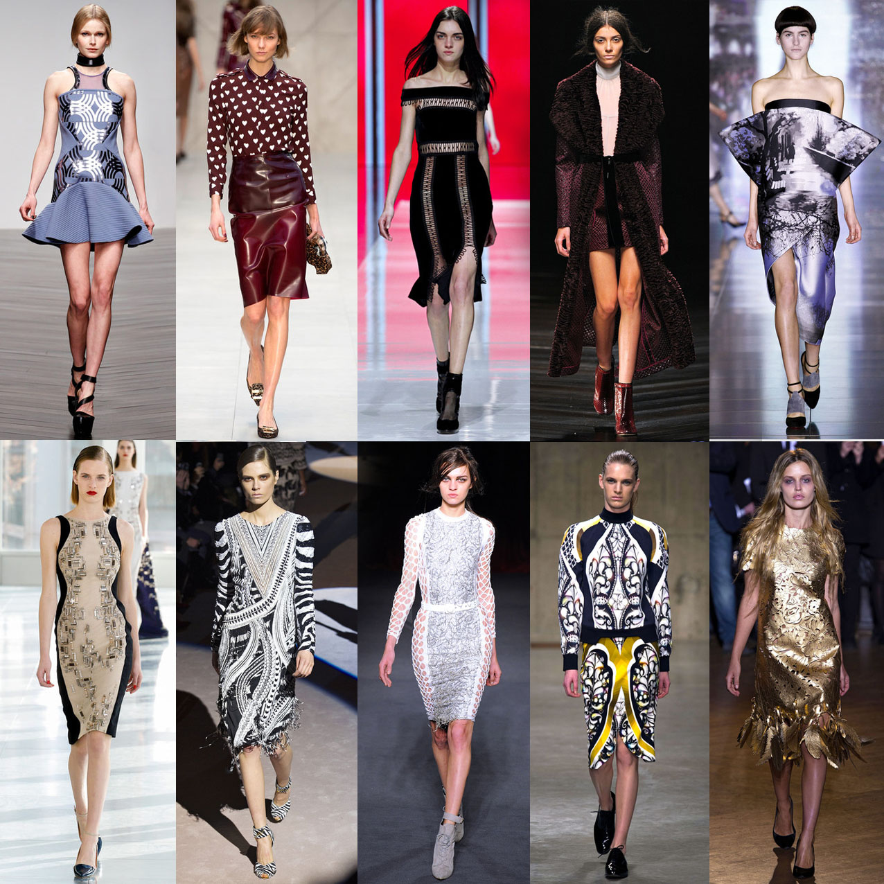 My top 10 London Fashion Week A/W 2013 collections!